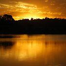 Golden Lake Kimberley by Graham Mewburn