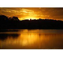 Golden Lake Kimberley Photographic Print
