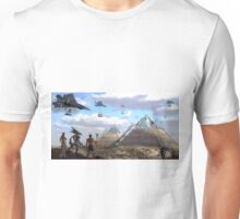 Aliens Built the Pyramids Unisex T-Shirt