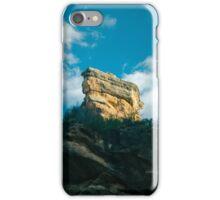 Sunlit Column on Shadowed Cliff iPhone Case/Skin