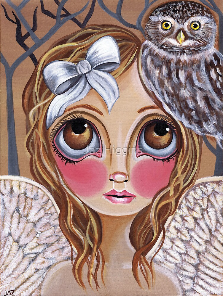 """Owl Angel"" by Jaz Higgins"