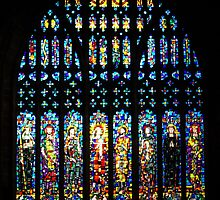 Chester Cathedral Stained Glass by Gillian Marshall