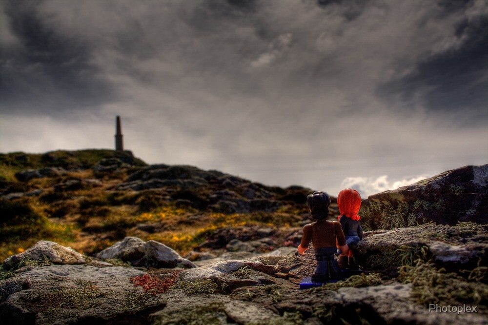 LEGO Doctor Who - The Doctor and Amy visit the Tower of Rassilon by Photoplex