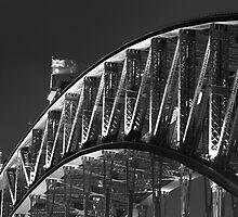 The Harbour Bridge - Sydney, Australia by Dev Wijewardane