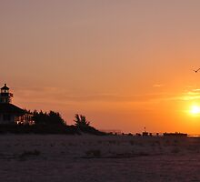 Early Morning at Boca Grande by Kim McClain Gregal