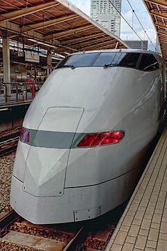 Shinkansen • Osaka • Japan by William Bullimore