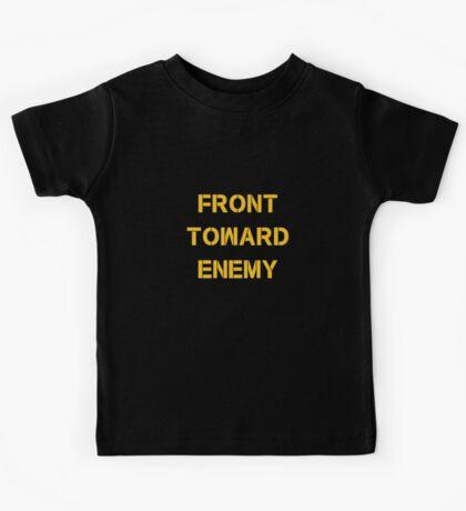 FRONT TOWARD ENEMY Kids Tee