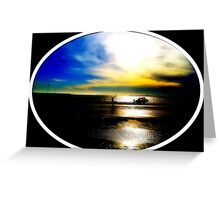 Riding The Summer Winds ... St Kilda Beach  Greeting Card