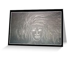 Phases (Spirit Guide Drawing) Greeting Card