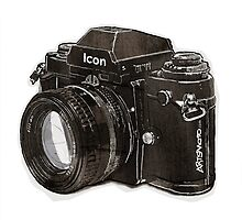 Analog 35mm Nikon F3 single reflex camera by Tom Mayer
