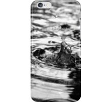 A drop of water iPhone Case/Skin