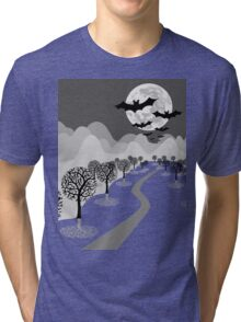 Happy Haunting Tri-blend T-Shirt