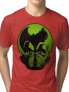 Big Green Mekon Head the second Tri-blend T-Shirt