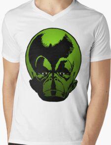 Big Green Mekon Head the second Mens V-Neck T-Shirt