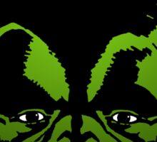 Big Green Mekon Head the second Sticker