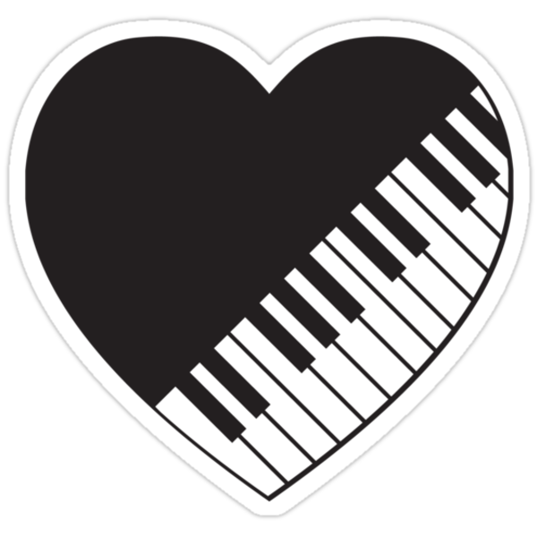 Piano Heart by imaginarystory