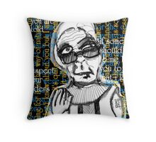 And it is. Throw Pillow