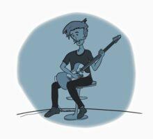 The Guitar Player Kids Tee
