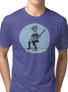 The Guitar Player Tri-blend T-Shirt