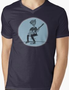 The Guitar Player Mens V-Neck T-Shirt