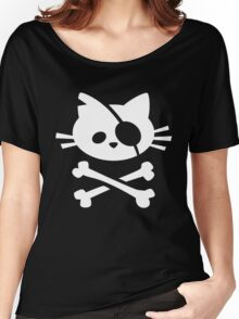 Pirate Cat Women's Relaxed Fit T-Shirt