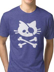Pirate Cat Tri-blend T-Shirt