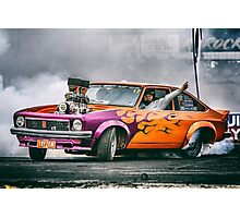 FRYZEM Ultimate Burnout Challenge Skid Photographic Print