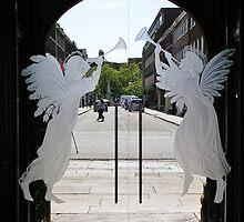 Good News Angels by lezvee