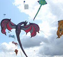 DRAGON KITE by gothgirl