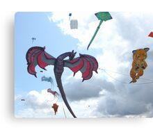 DRAGON KITE Canvas Print
