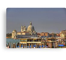 Basilica of St Mary of Health Canvas Print
