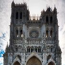Amiens Cathedral, Somme, France by Bob Culshaw