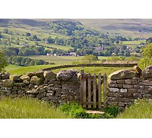 Gateway to Wenselydale Photographic Print