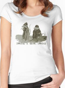 Mr Holmes wisdom Women's Fitted Scoop T-Shirt