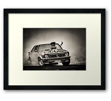 FRYZEM UBC Burnout Framed Print