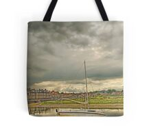 Storm clouds over Blakeney Tote Bag