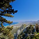 View from St Hilarion Castle  by Alex Cassels