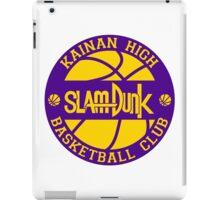 Kainan High Basketball Club Logo iPad Case/Skin