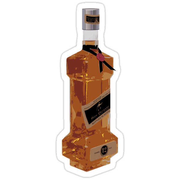 Rick Deckard Blade Running Bottle Sticker by synaptyx