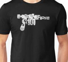 Han Shot First- Black Tee Unisex T-Shirt