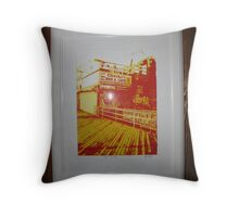 Coney Island Two. Throw Pillow
