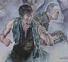 TWD Daryl and Merle Dixon by 1cscheid
