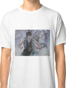 TWD Daryl and Merle Dixon Classic T-Shirt
