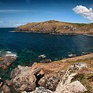 Cornwall - View from Cape Cornwall (Panorama) by Simon Marsden