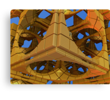 Tumbling Tower Canvas Print