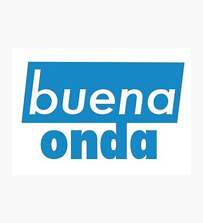 Buena Onda Photographic Print