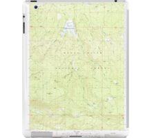 USGS Topo Map Oregon Willow Lake 282108 1988 24000 iPad Case/Skin