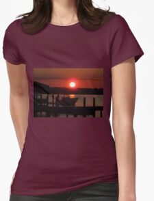 Boating At Sunset T-Shirt