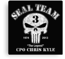 US Sniper Chris Kyle American Legend Canvas Print