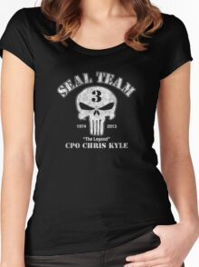 US Sniper Chris Kyle American Legend Women's Fitted Scoop T-Shirt